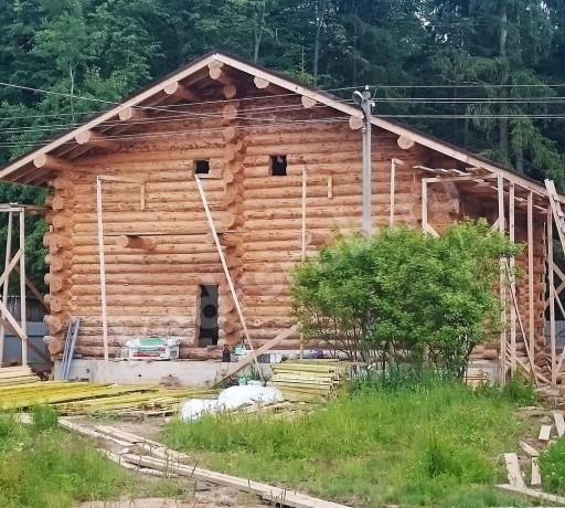 Дом из рубленного бревна «Сарат»