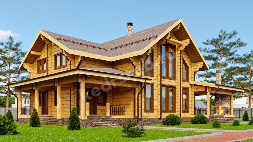 Проект дома ДЛ — 035