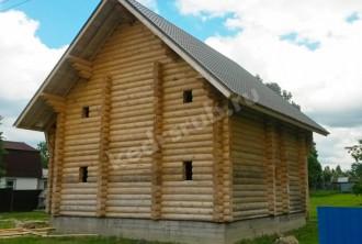 Дом из рубленного бревна «Комфорт»